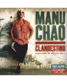Manu Chao Clandestino =2LP+bonus CD=