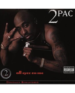 2Pac (Two Pac/Tupac) All Eyez On Me=4LP=