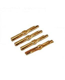 Cardas PCC Cartridge Clips 4 pcs ( Gold plated )