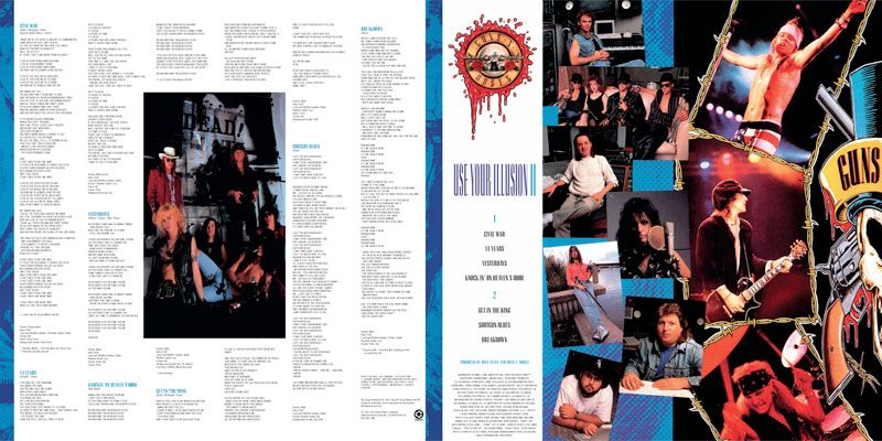 download album guns n roses use your illusion ii