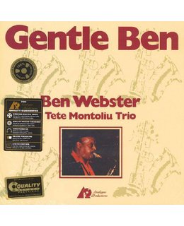 Ben Webster Gentle Ben (with Tete Montoliu Trio)