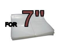 VinylVinyl 7 inch Outer Sleeves ( PE)- 50pcs