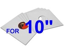 VinylVinyl Cardboard= Outer Sleeve for 10 inch = 5 pcs=