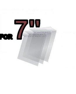 VinylVinyl 7 inch Sealable Outer Sleeves -50pcs
