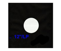 VinylVinyl 12inch Inner Sleeves  - Anti Static 50pcs - black