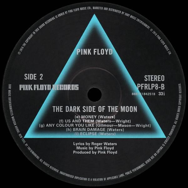 Pink Floyd Dark Side of the Moon =2016= - VinylVinyl