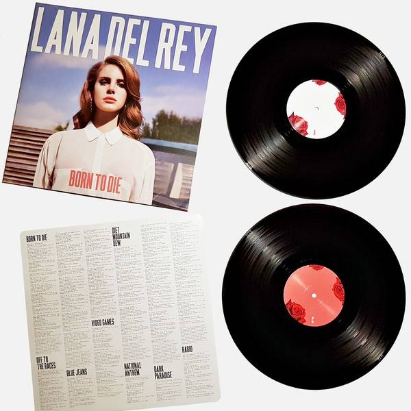 Lana Del Rey Born To Die 2lp Vinylvinyl