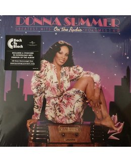 Donna Summer On the Radio=2LP= Greatest Hits Vol. I & II