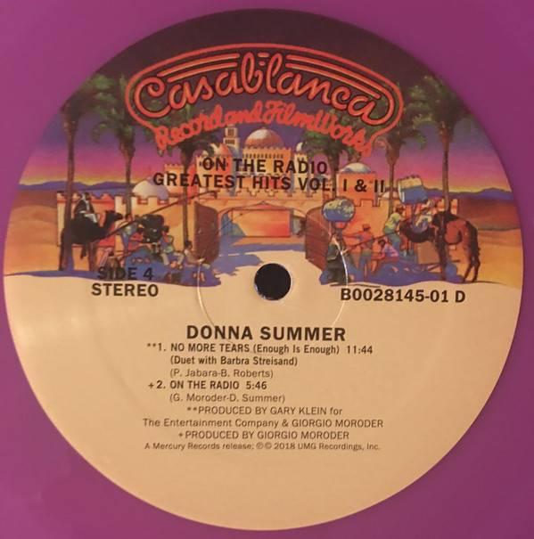 Donna Summer On The Radio 2lp Hits I Amp Ii Vinylvinyl
