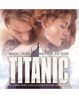 OST - Soundtrack- Titanic = James Horner =Music From The Motion Picture) = 180g 2LP =