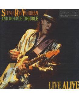 Stevie Ray Vaughan/ Double Trouble Live  Alive=2LP=
