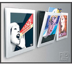 ArtVinyl Play&Display 3pack White