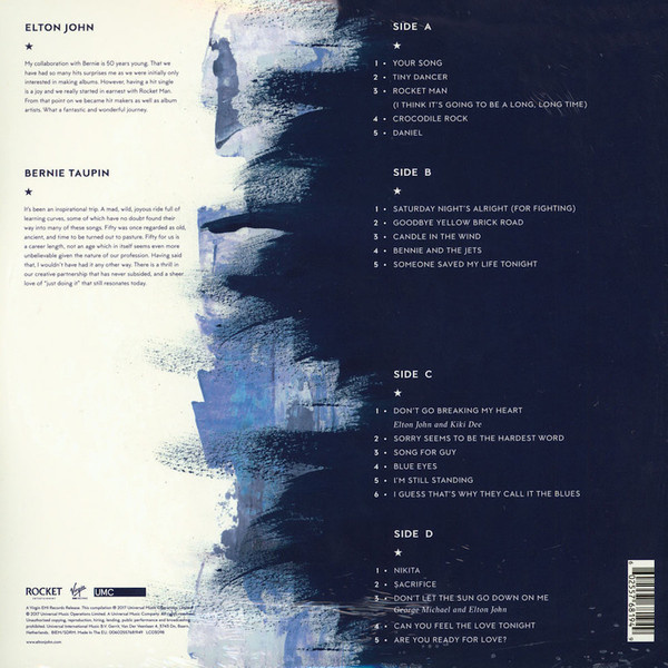 Elton John Diamonds =Ultimate Greatest Hits= - VinylVinyl