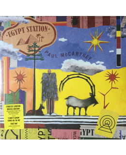 Paul McCartney Egypt Station -deluxe Z-fold +poster-180g
