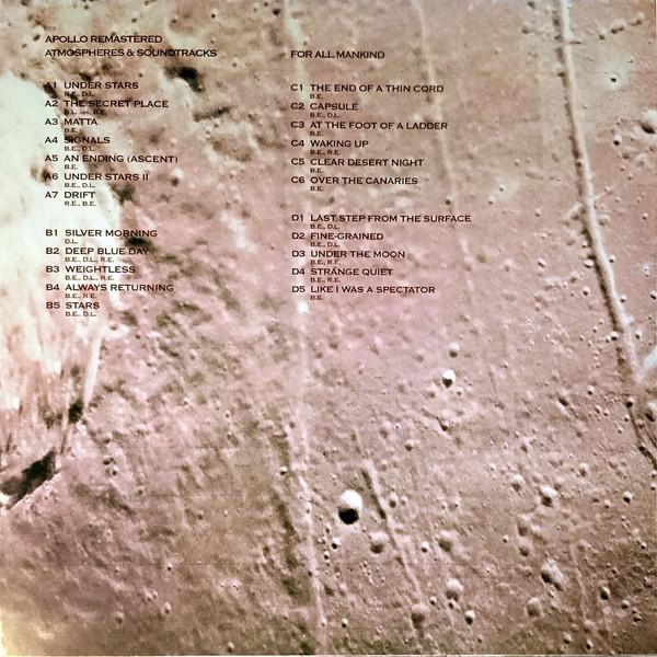 Brian Eno Apollo Atmospheres Soundtracks Extended Vinylvinyl