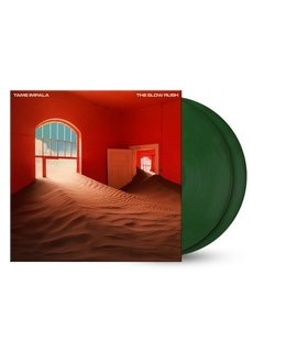 Tame Impala Slow Rush =2LP= Forest Green Coloured vinyl