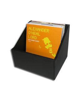 "Vinyl Storage 12""  Record Storage Box =mdf Wood="