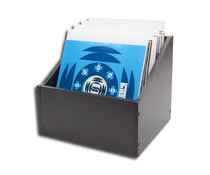 "Vinyl Storage 12""  Record Storage Box = mdf wood ="