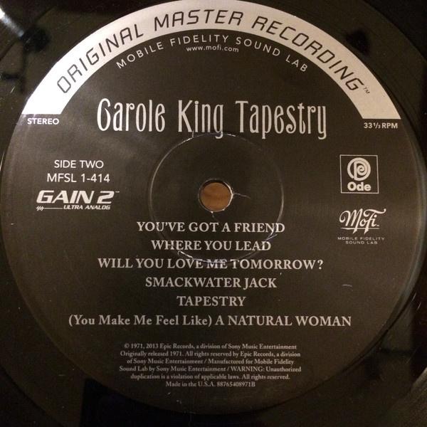 Carole King Tapestry Numbered 180g Vinyl Lp Gatefold Vinylvinyl