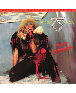 Twisted Sister Stay Hungry  (Numbered 180g)