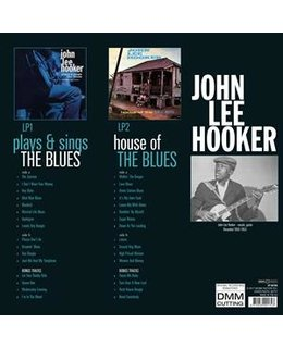 John Lee Hooker Plays & Sings the Blues + House of the Blues - 2lp=