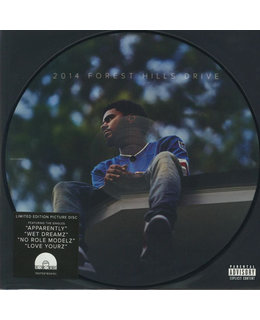 J. Cole 2014 Forest Hills Drive - picture disc - 12 inch