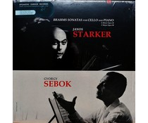 Brahms/ Janos Starker/ Gyorgy Sebok -Sonatas For Cello & Piano(J.. Starker/G. Sebok)