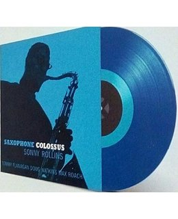 Sonny Rollins Saxophone Colossus = blue vinyl =