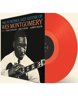 Wes Montgomery Incredible Jazz Guitar =  Red Coloured vinyl=