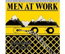 Men At Work Business as Usual = 180g vinyl = MFSL =