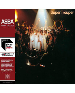 ABBA Super Trouper =45RPM=180g 2LP=Half-Speed Mastering