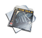 VinylVinyl 12 inch clear protective outer sleeve (with flap ) = 10pcs =