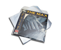 VinylVinyl LP / 12 inch clear protective outer sleeve (with flap ) = 10pcs =