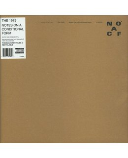 1975, the ( Nineteen Seventy Five) Notes on a Conditional Form = white = 2LP