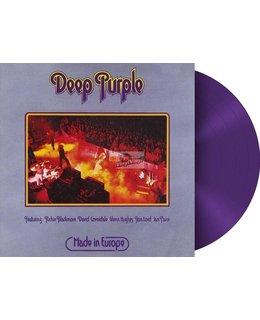 Deep Purple Made In Europe - purple vinyl coloured -