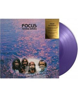 Focus Moving Waves= 180g coloured vinyl =