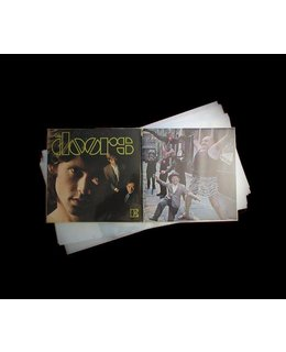 VinylVinyl Outer Sleeves for Double-LP (Gatefold) =5 pcs =
