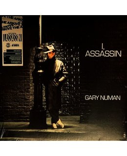 Gary Numan  I, Assassin = Coloured vinyl LP =