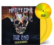 Motley Crue The End ( Live In Los Angeles ) = 180g coloured vinyl 2LP + DVD=