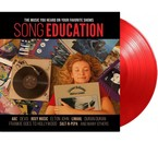 Various Artists Song Education = red vinyl LP =