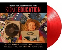 Various Artists -Song Education = red vinyl LP =