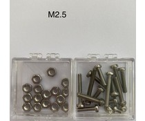 Tonar Cartridge Mounting Screws Sets  = 2.5m Set =