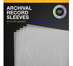 Mobile Fidelity Sound Lab = MOFI = Archival Clear Record Outer Sleeves (Pack of 50)= new=