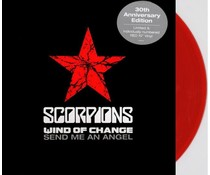 "Scorpions Wind Of Change / Send Me An Angel =red vinyl 10"" EP ="