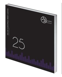 Audio Anatomy 12inch Inner Sleeves - Anti Static =25pcs =