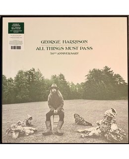 George Harrison All Things Must Pass =180g vinyl 3LP=deluxe boxset= (50th Anniversary)
