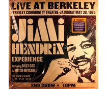 Jimi Hendrix / Experience Live At Berkeley ( 1970 ) =2LP=