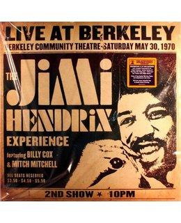 Jimi Hendrix / Experience Live At Berkeley ( 1970 ) =2LP=