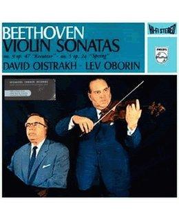 Beethoven L Van Sonatas Piano And Violin Nos 5 & 9 =180g LP =