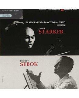 Brahms/ Janos Starker/ Gyorgy Sebok Sonatas For Cello & Piano(J.. Starker/G. Sebok)